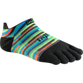 Injinji Run Xtralife Lightweight No Show Socks Men spiffy spectrum